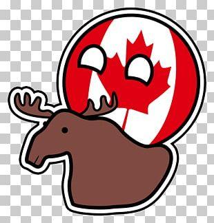 T-shirt Polandball Canada Art Moose PNG