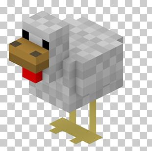 Minecraft: Pocket Edition Chicken As Food Mob PNG