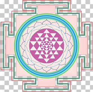 Sri Yantra Mandala Chakra Sahasrara PNG