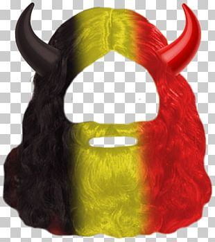 Belgium Red Devil Mask PNG