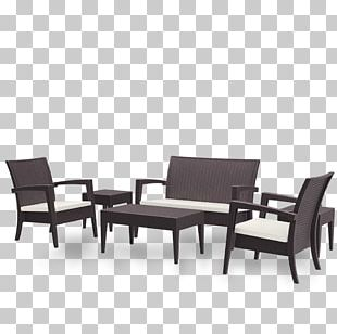 Table Garden Furniture Living Room Chair PNG