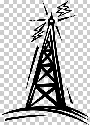Telecommunications Tower Radio Cartoon PNG