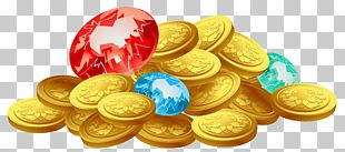 Treasure Coin Gold PNG