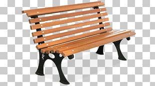 Bench Street Furniture Wood Metal Banc Public PNG