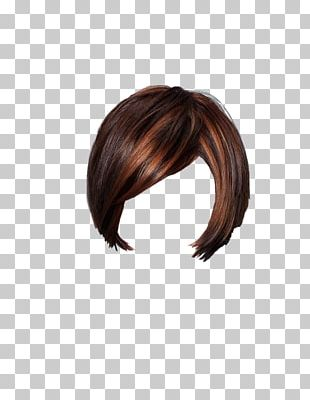 Brown Hair Step Cutting Layered Hair Hair Coloring PNG