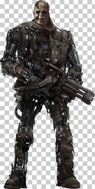 Terminator Salvation T-600 Suit Performer McG Skynet PNG