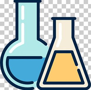 Chemistry Laboratory Flasks Reagent Test Tubes PNG