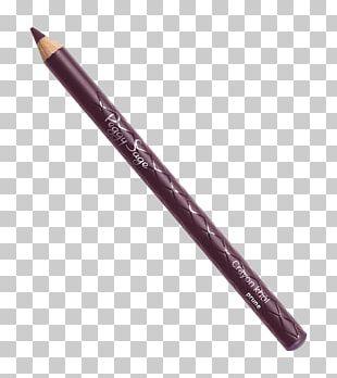 Eye Liner Mechanical Pencil Brush Watercolor Painting PNG