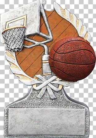 Trophy Basketball Sports Commemorative Plaque Award PNG