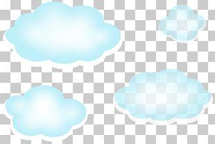Blue Sky Cloud PNG