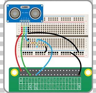 Raspberry Pi Ultrasonic Transducer Sensor Sonic Pi Ultrasound PNG