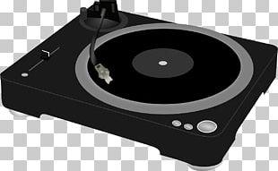 Disc Jockey Phonograph Direct-drive Turntable PNG