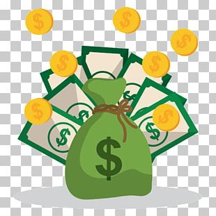 Money Bag Graphics Illustration Saving PNG