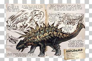 ARK: Survival Evolved Ankylosaurus Tyrannosaurus Gallimimus Spinosaurus PNG