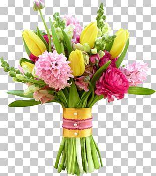 Flower Bouquet Floristry Cut Flowers PNG