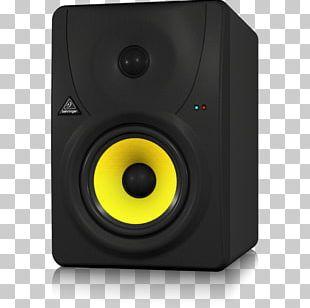 Studio Monitor Computer Monitors Loudspeaker Audio Behringer PNG
