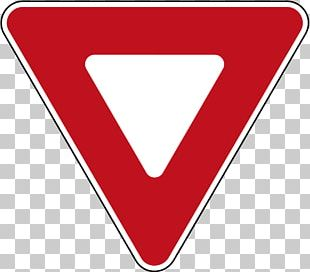 Yield Sign Traffic Sign Stop Sign Road PNG
