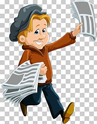 Paperboy Newspaper Stock Photography PNG