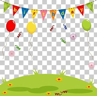 Birthday Cuteness Drawing Illustration PNG