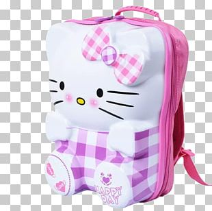 Hello Kitty Suitcase Cat Travel PNG
