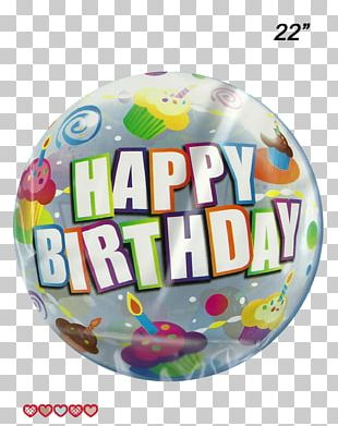 Balloon Happy Birthday To You Party Gift PNG