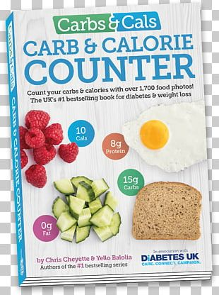 Carbs & Cals: Count Your Carbs & Calories With Over 1 PNG, Clipart