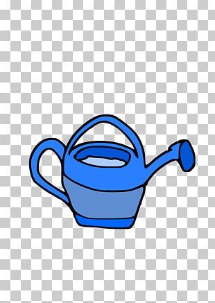 Bucket Watering Cans Garden PNG