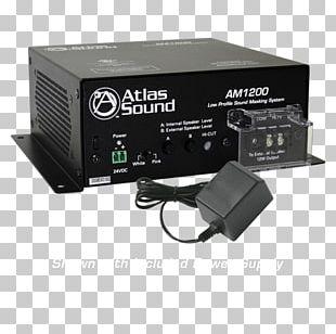 Atlas Sound Am1200 Low Profile Sound Masking System Background Noise Machines Auditory Masking PNG