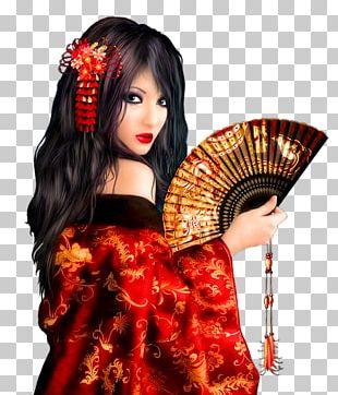Memoirs Of A Geisha Japanese Art Painting PNG