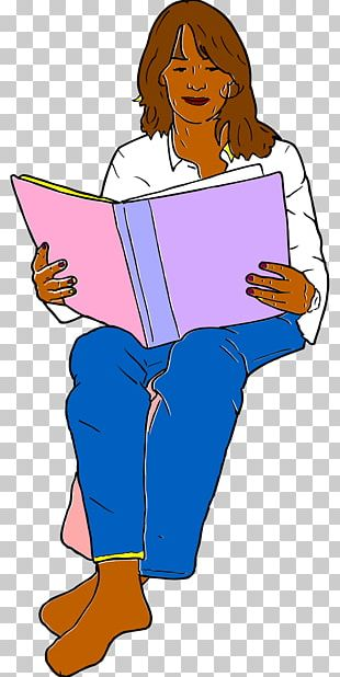 Reading Book Woman PNG