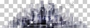 Building City Computer File PNG