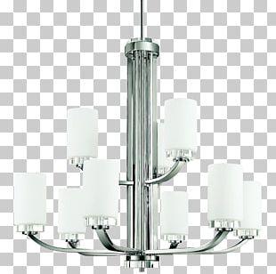 Chandelier Lighting Product Design PNG