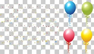 Paper Confetti Toy Balloon PNG