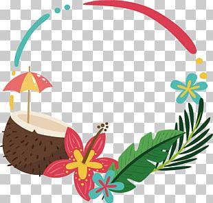 Border Leaf Border Frame PNG