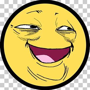 Trollface Internet Troll Smile Emoticon PNG