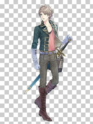Anime Male Sword Blond Hair PNG