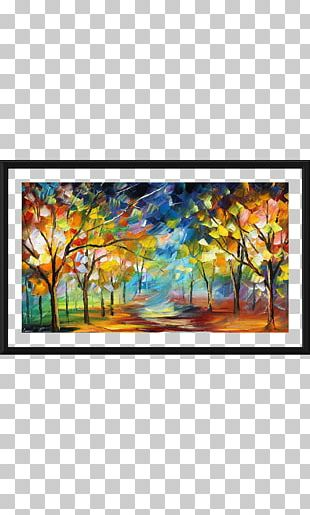 Oil Painting Abstract Art Work Of Art PNG