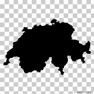 Switzerland Map Blank Map PNG