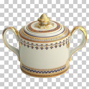 Mottahedeh & Company Porcelain Sugar Bowl Tableware Arlington PNG