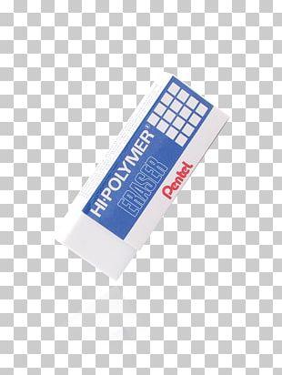 Paper Eraser Pentel Office Supplies Pencil PNG
