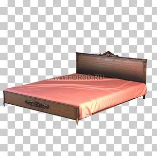 Bed Frame Tree Furniture Mattress PNG