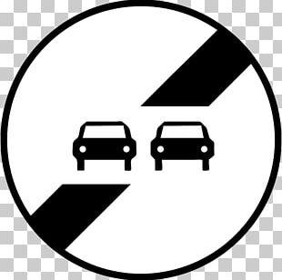 Panneau De Signalisation De Fin D'interdiction En France Panneau De Signalisation Routière De Prescription En France Panneau D'interdiction De Dépasser En France Traffic Sign Road PNG