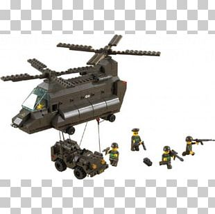 Military Helicopter LEGO Toy Army PNG