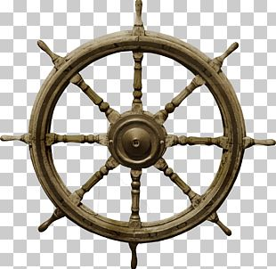 Ships Wheel Boat Rudder PNG