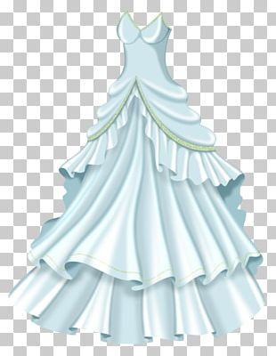 Dress Gown Bride Wedding PNG