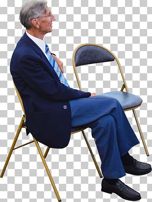 Sitting Old Age Manspreading PNG
