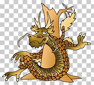 Chinese Dragon Illustration Legendary Creature PNG