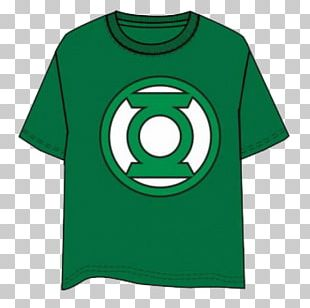 T-shirt Green Lantern Batman Flash Superman PNG