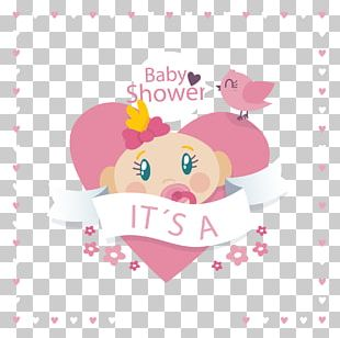 Baby Shower Infant Illustration PNG