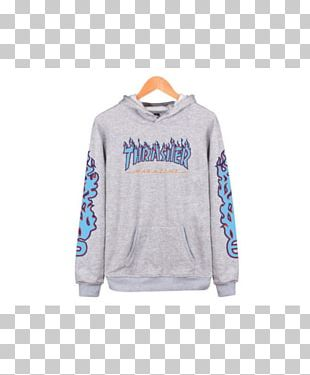 Hoodie T-shirt Thrasher Clothing Sweater PNG